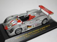 AUDI R8 TEAM JOEST WINNER LE MANS 2001 #1  ixo  LMM001  4895102300785   1/43 1