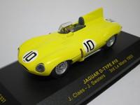 Jaguar D-type #10 3rd  ixo  LMC037  4895102302819  1/43 1