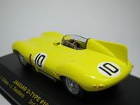 Jaguar D-type #10 3rd  ixo  LMC037  4895102302819  1/43 2