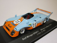 Gulf Mirage GR8 #11 Winner  ixo  LM1975  4895102305087  1/43 1