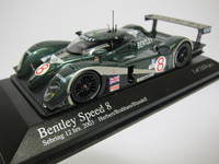 Bentley Speed 8 Sebring 12 hrs. 2003  MINICHAMPS  400031398  4012138050068  1/43 1