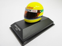 HELMET COLLECTION AYRTON SENNA  MINICHAMPS  540381913  4012138024601  1/8 1