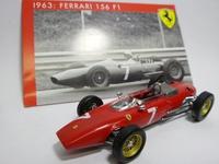 Ferrari 156 F1 #7  Mattel  SP03/63  4895102307609  1/43 3