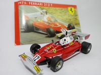 Ferrari 312T #12  Mattel  SF04/75  4895102307821  1/43
