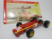 Ferrari 312 F1 #26  Mattel  SF13/68  4895102310562  1/43