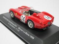 Ferrari 250 Testa Rossa #14 Winner  ixo  LM1958  4895102305445  1/43 2