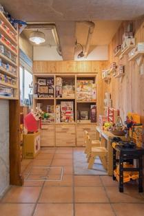 鎌倉 由比ガ浜 MotoVillage モトビレッジ 木のおもちゃ 店内画像