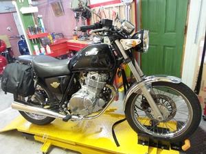 鎌倉 バイク 修理 カスタム TU250 ボルティー 作業例