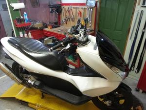 鎌倉 バイク 修理 ホンダ PCX125 PCX125 エンジン ボアアップ 作業例