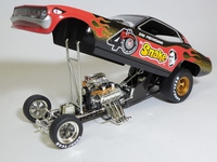 the Snake DON PRUDHOMME  1320 Inc.  TT9201  1/24 3