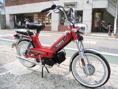鎌倉 バイク 修理 カスタム トモス TOMOS TOMOS 新車整備 作業例