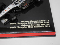 McLaren Mercedes MP4/13 /14  MINICHAMPS  402989901  4012138032972   1/43_4