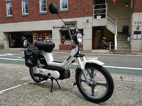 鎌倉 バイク 修理 カスタム ピアジオ Si 作業例